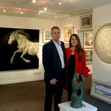 Paul and Jackie Foster of The Hunter Gallery
