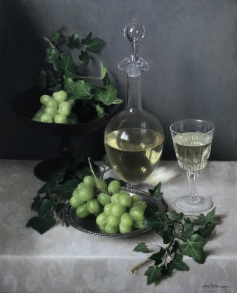 Alexander Debenham Grapes And Ivy